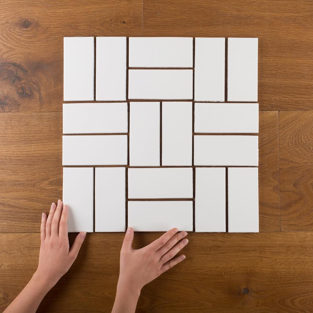 Here are 3x6s in a parquet pattern subway tile aka 3x6 is always here are 3x6s in a parquet pattern subway tile aka 3x6 is always the dailygadgetfo Images