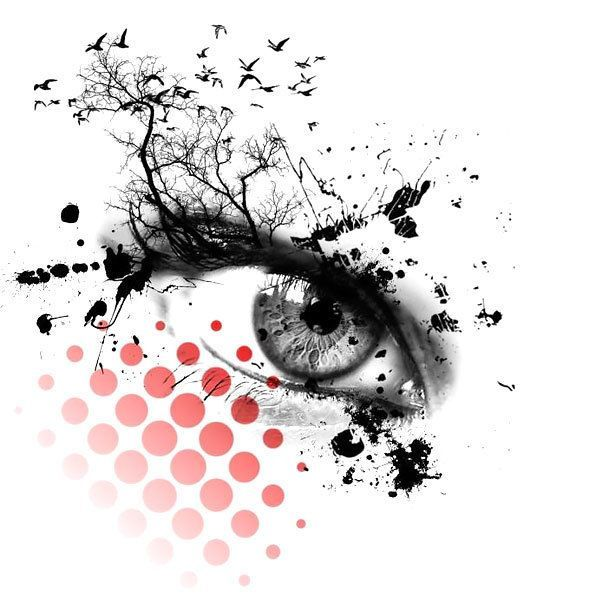 Trash Polka Eye Tattoo Design Trash Polka Tattoos