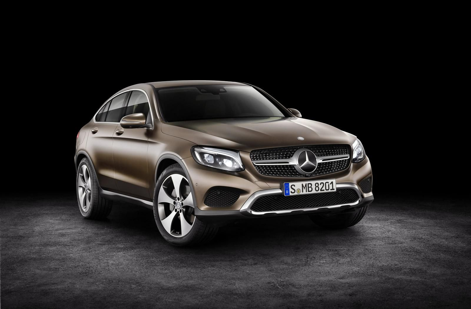 2016 New York Motor Show Mercedes Glc Coupe Mercedes Benz Glc
