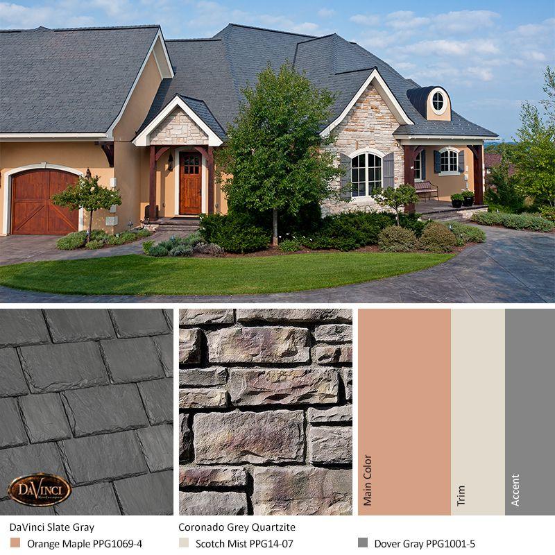 Gray Stone Exterior Color Schemes Exterior Color Schemes Exterior Stone Exterior Colors