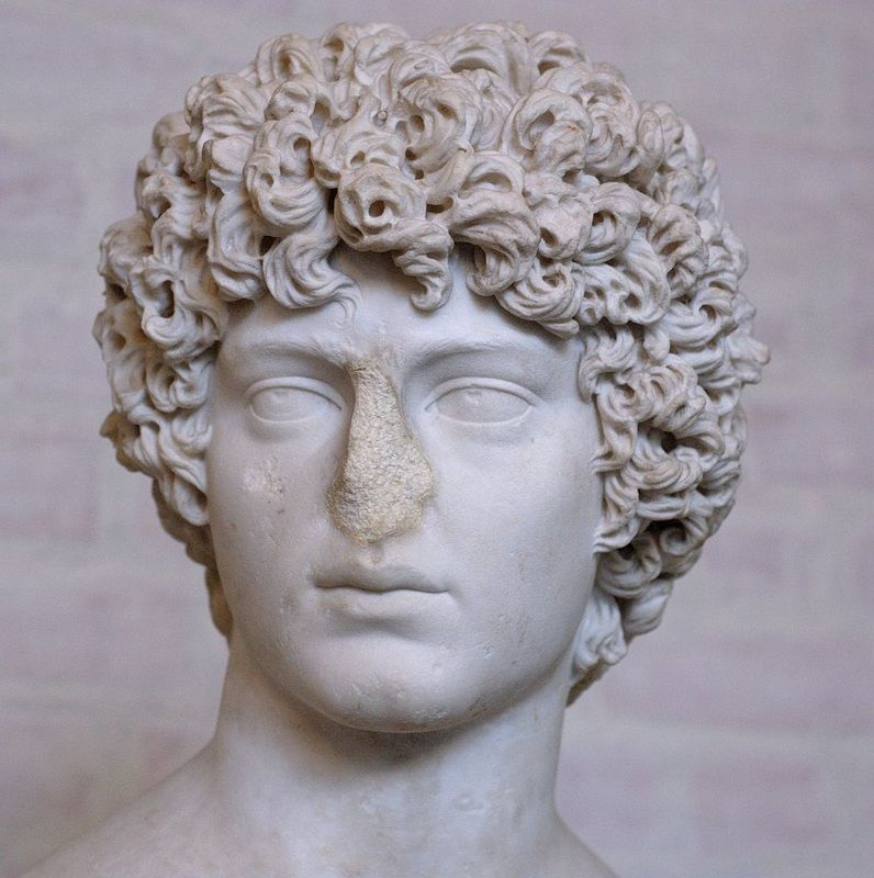 Ancient Roman Hairstyles For Men Www Pixshark Com What Is Art Therapy Roman Statue Meaningful Pictures