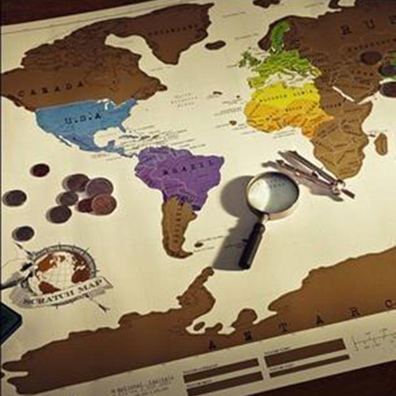 1 pcs scratch off map travel scratch map 88x52 cm world map novelty 1 pcs scratch off map travel scratch map 88x52 cm world map novelty gift gumiabroncs Image collections