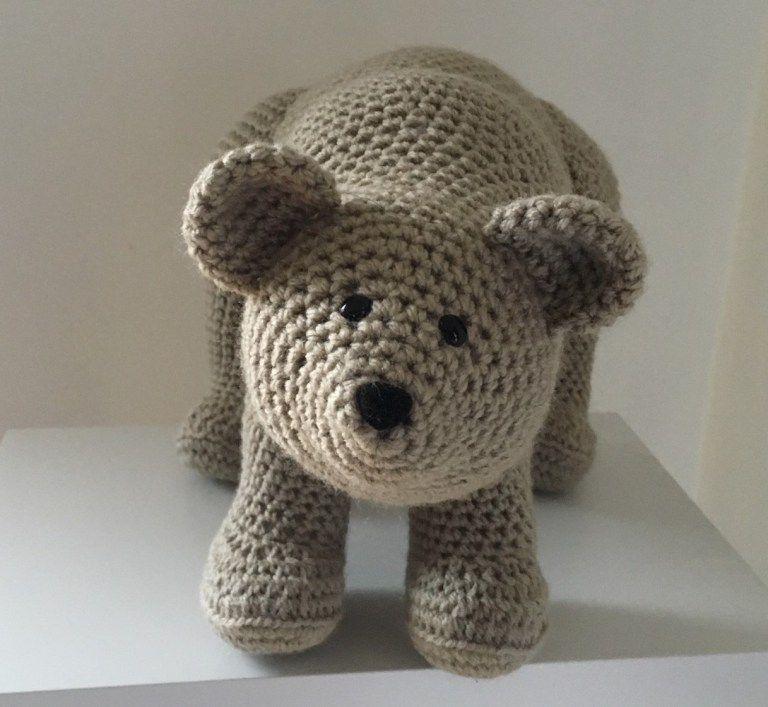 Free Bear Amigurumi Crochet Pattern | allerlei | Pinterest | Crochet ...