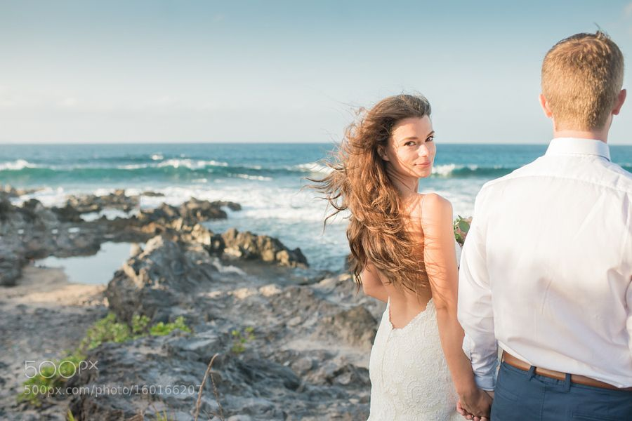 Tropical Elopement by Simplemauiwedding