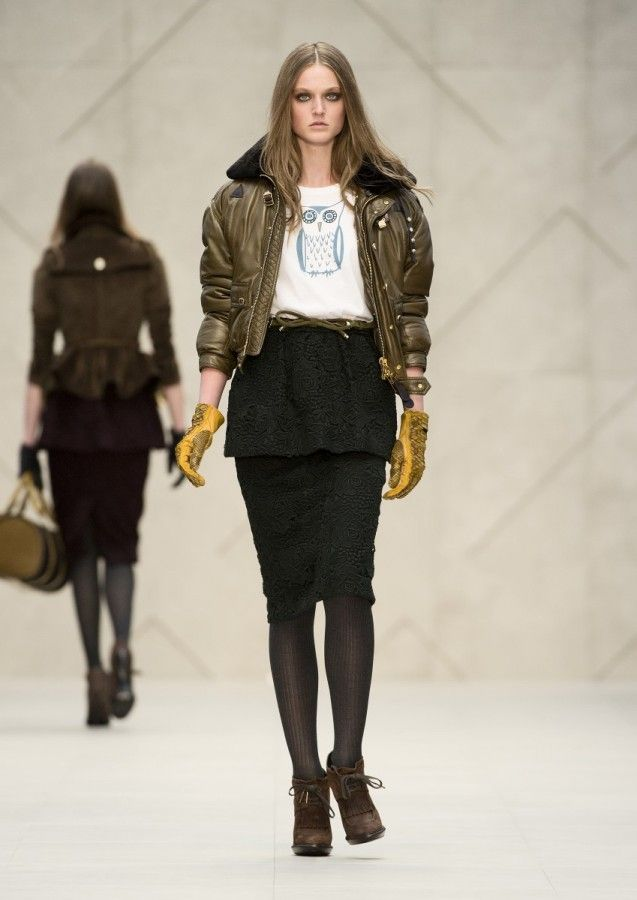 Burberry A/W 2012 Look 36
