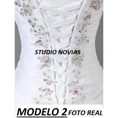 8c2896981d Vestidos Novia Baratos Nuevos Sirena Princesa Ivory Blanco -   3