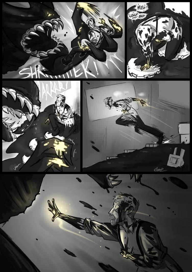Not The End - BATIM New Soul AU Comic - Part 17 by