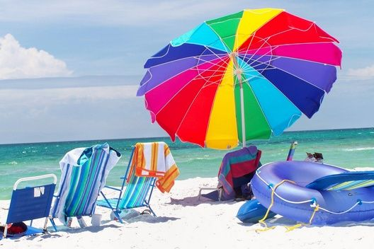 Beach in color!