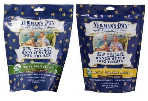Newman S Own Organic New Zealand Ranch Style Dog Treats 2 Flavor