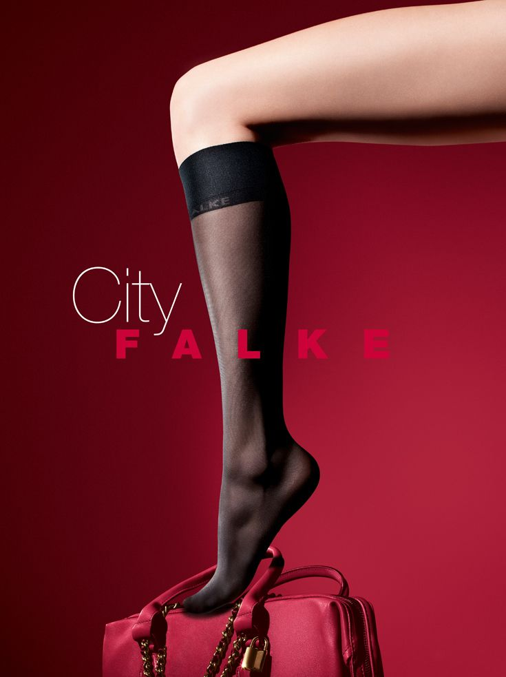 2129b877cb2 Falke knee high socks for women. Stylish long socks in luxurious materials  for comfort all day long. Styles for business and casual wear.