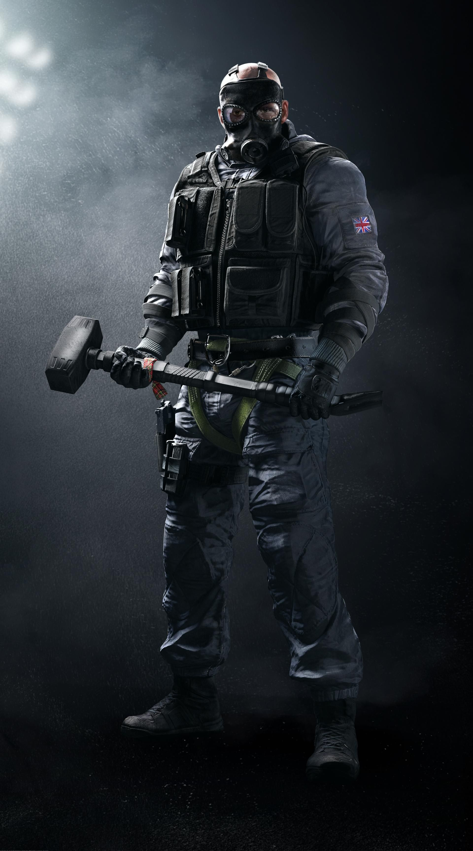 Sledge Sas Base Game Operator Special Tactical Breaching Hammer