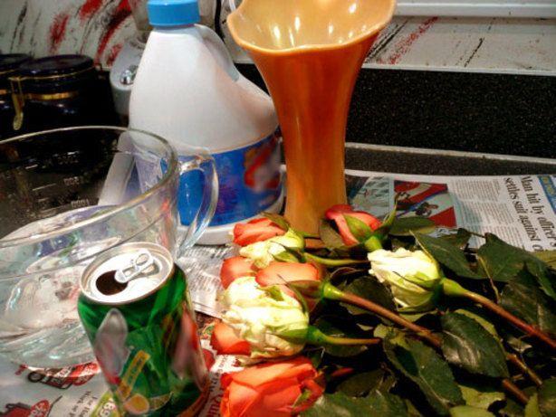 Fresh Flower Preservative Recipe Food Com Recipe Recipes Preserves Fruit Centerpieces