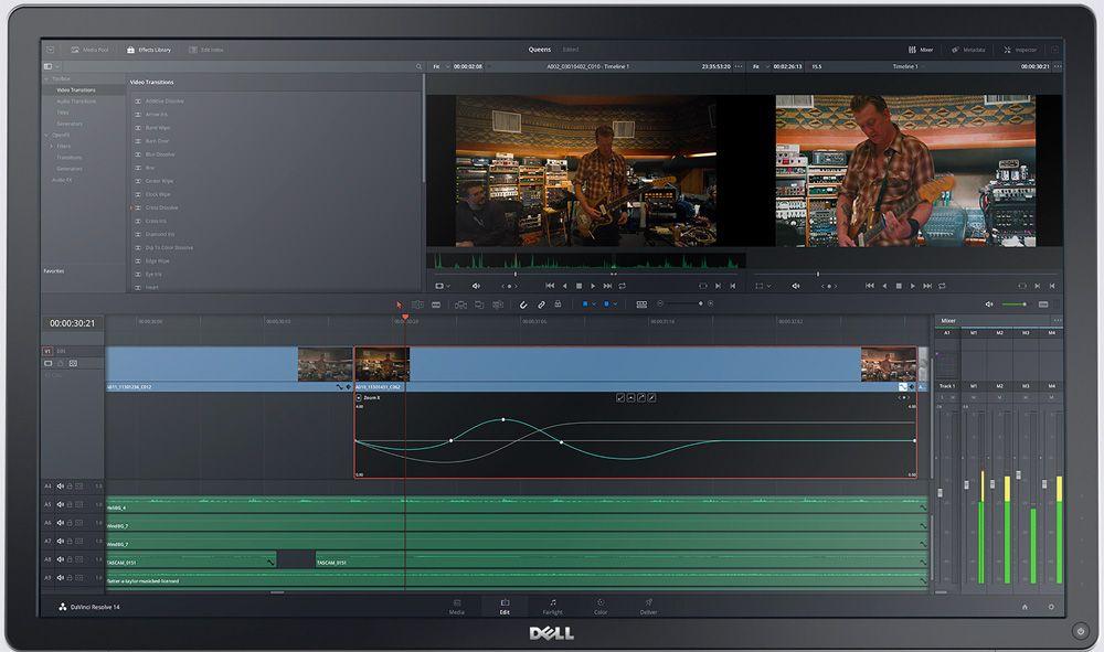 Editor De Videos Descubre 17 Programas Que Puedes Utilizar Blackmagic Design Video Editing Application Color Correction