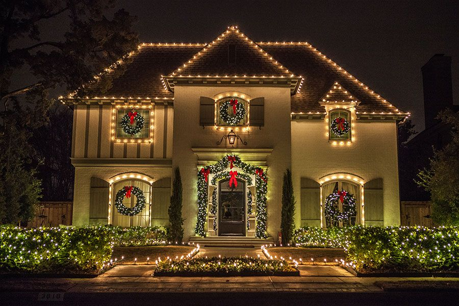 White Christmas Lights Outdoor