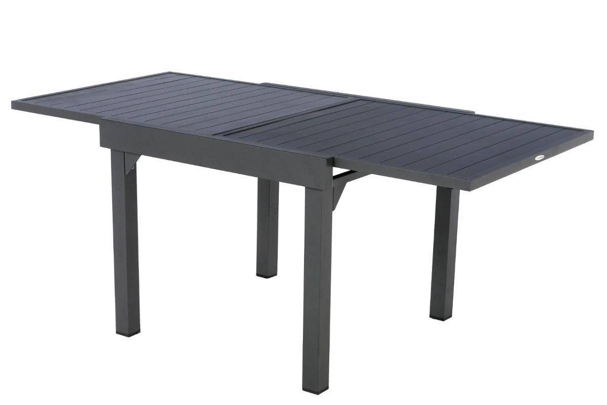 Table Extensible Piazza Aluminium Graphite 8 Places Aluminium Hesperide Graphite Table De Jardin Table Et Chaises De Jardin Table Extensible
