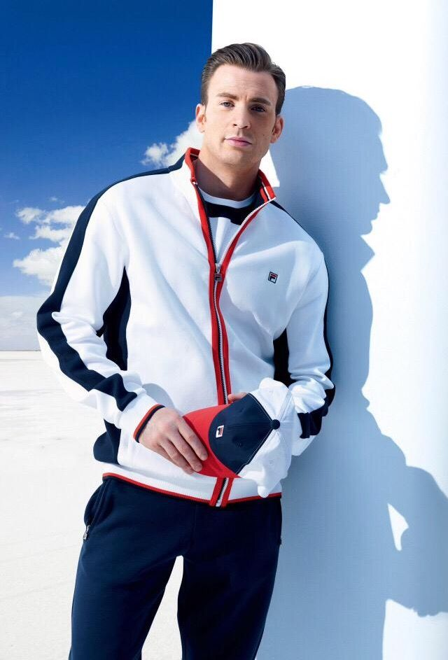 Chris Evans for Fila | Ropa casual hombres, Ropa deportiva ...