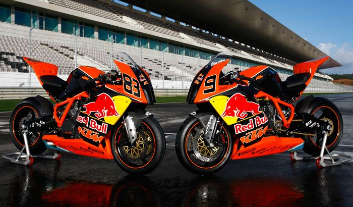 The Ktm Rc8r Red Bull Superbike One Of The Best Looking Race