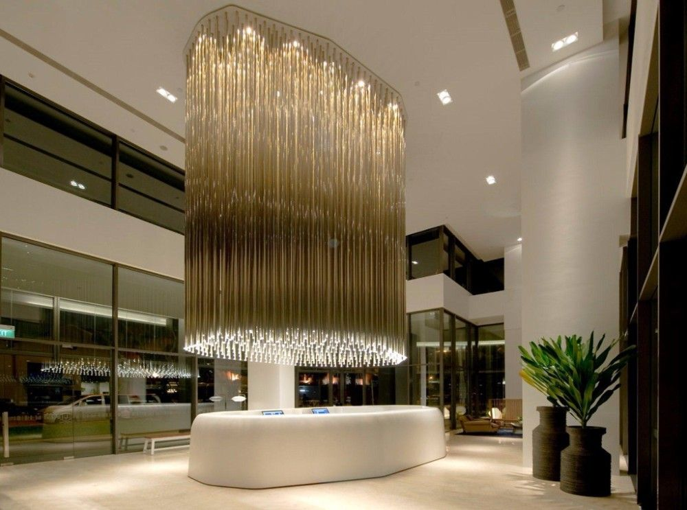 World s 10 best luxury hotel lobby designs interior design - Commercial lighting fixtures interior ...