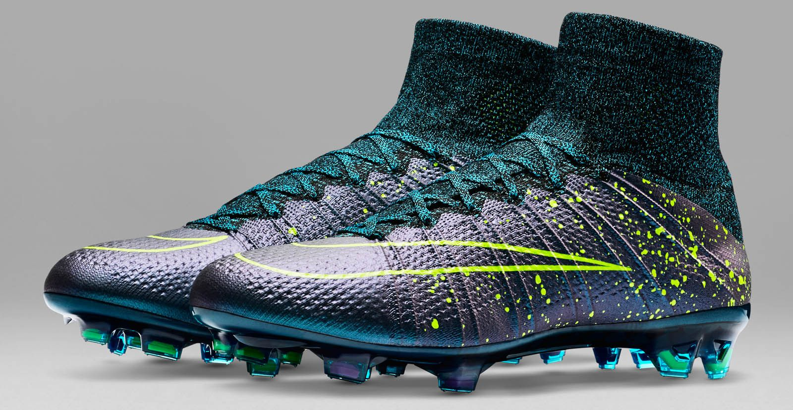 Blue Nike Mercurial Superfly 2015 2016 Boots Released