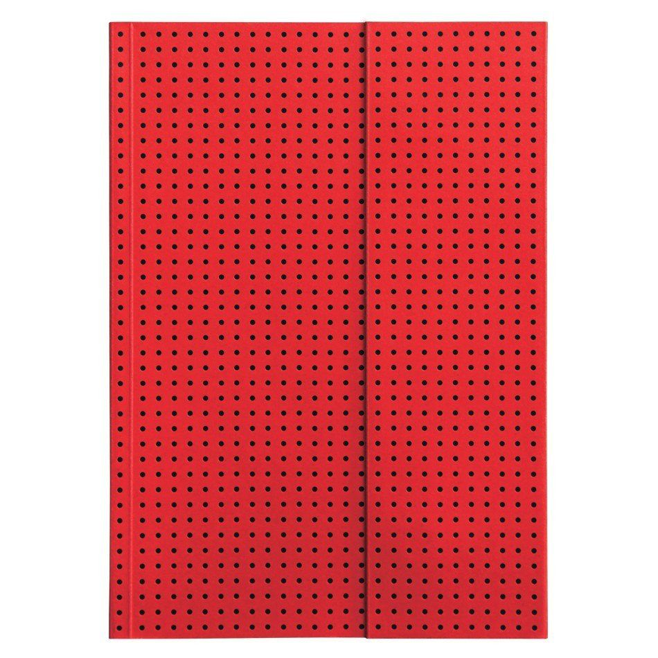Notebooks - Paper-Oh Notebook Circulo Red on Black - Paper-Oh - 2