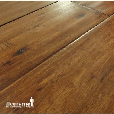 Hand Scraped Hardwood Flooring Is An Older Style Floor That