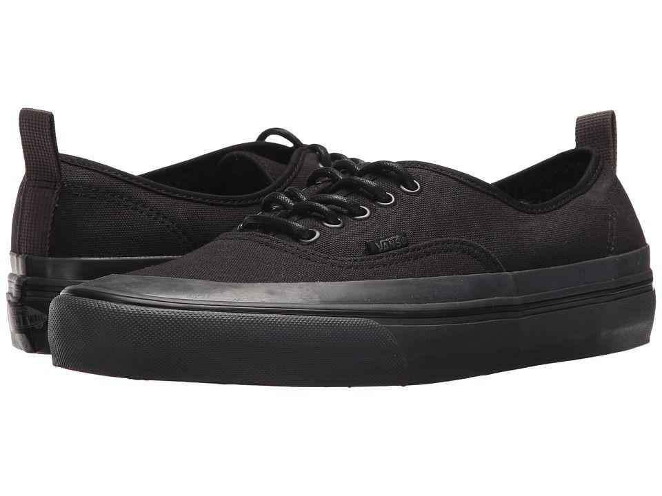 c320f80cadd6a7 Vans Authentic HF Shoes (Vansguard) Black Asphalt