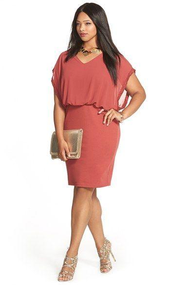 JUNAROSE Blouson Dress & Accessories (Plus Size | Dresses ...