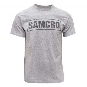 Sons Of Anarchy Season 6 Samcro T Shirt Grey Samcro T Shirt Anarchy Shirts Shirts Grey