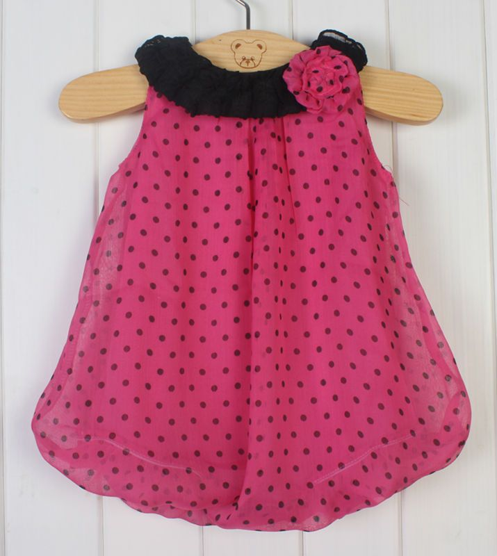 Cute Lovely baby boys girls summer clothing girls cotton dress ...