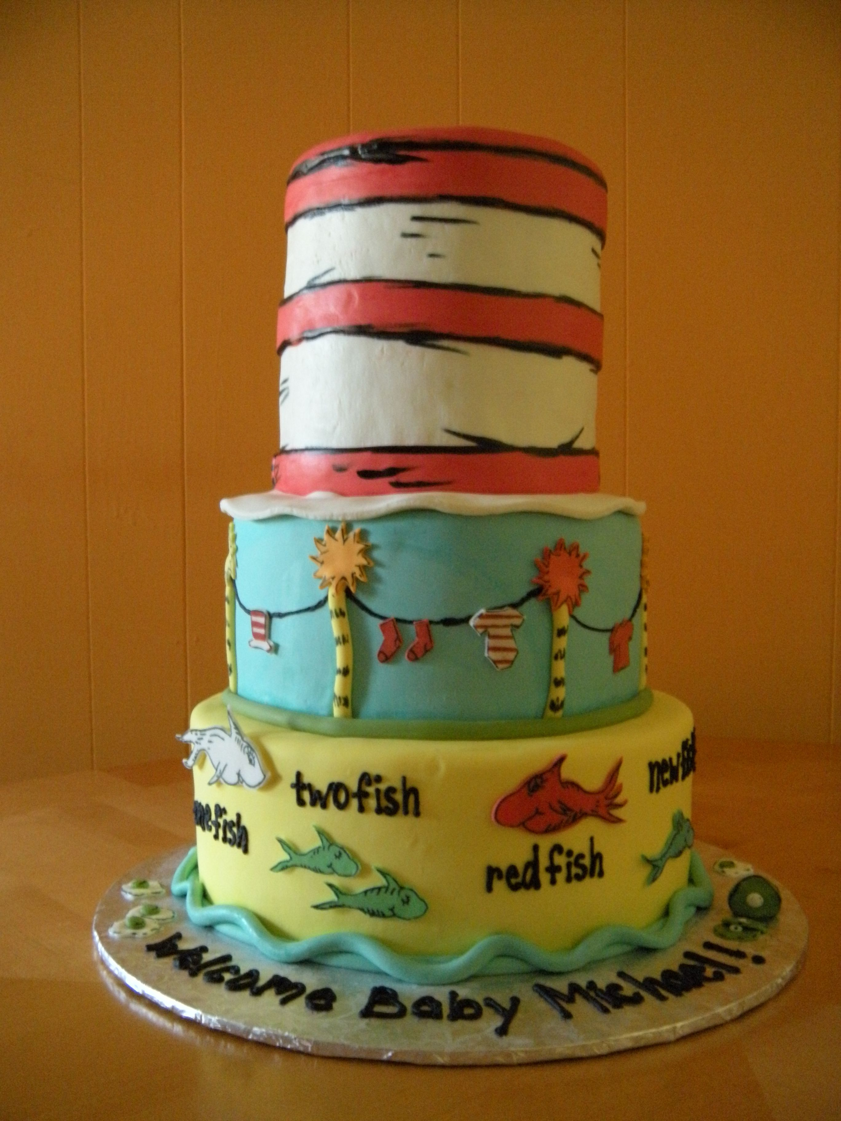 Great Dr Suess Cakes | ... Cakes , Special Occassion Cakes U2014 Main Made Custom Cake  U0026 Cupcakes