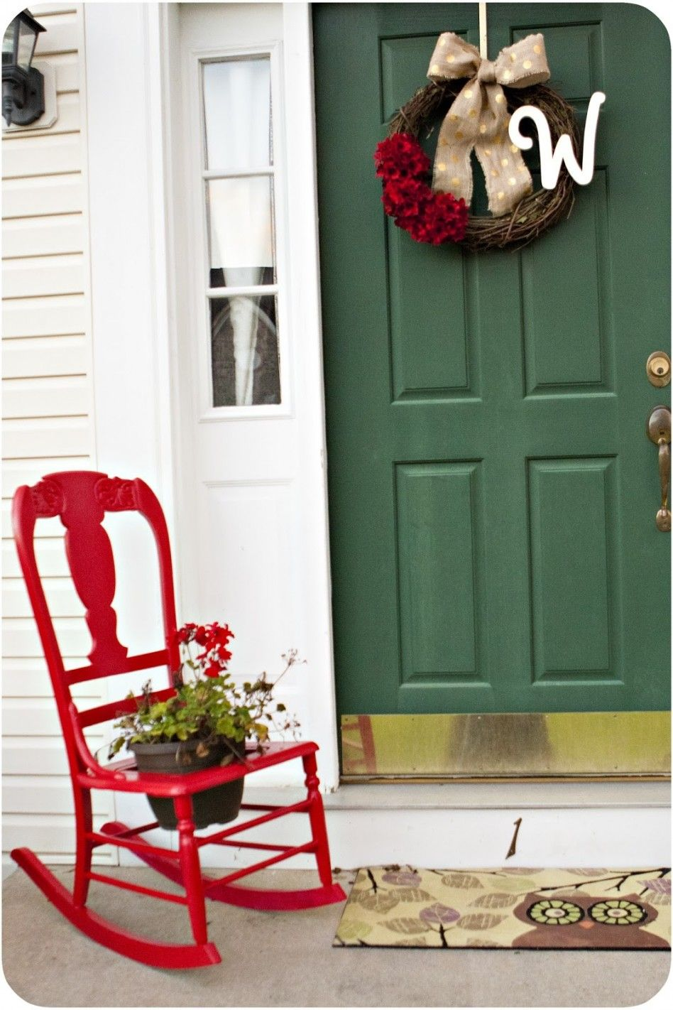 Best Decorating Ideas Delightful Small Front Porch 400 x 300
