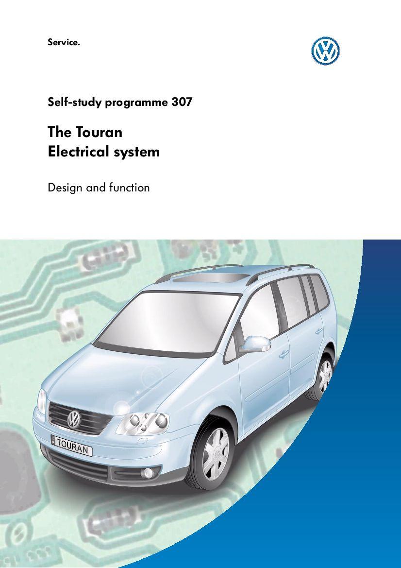Ssp 307 Touran Electrical System Pdf Download Volkswagen Touran Electrical System Repair Manuals