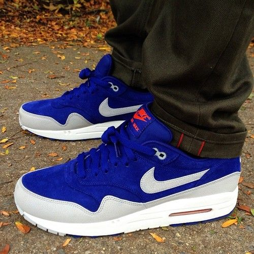 Nike Air Max 1 Premium Deep Royal Blue Granite | Sneakers