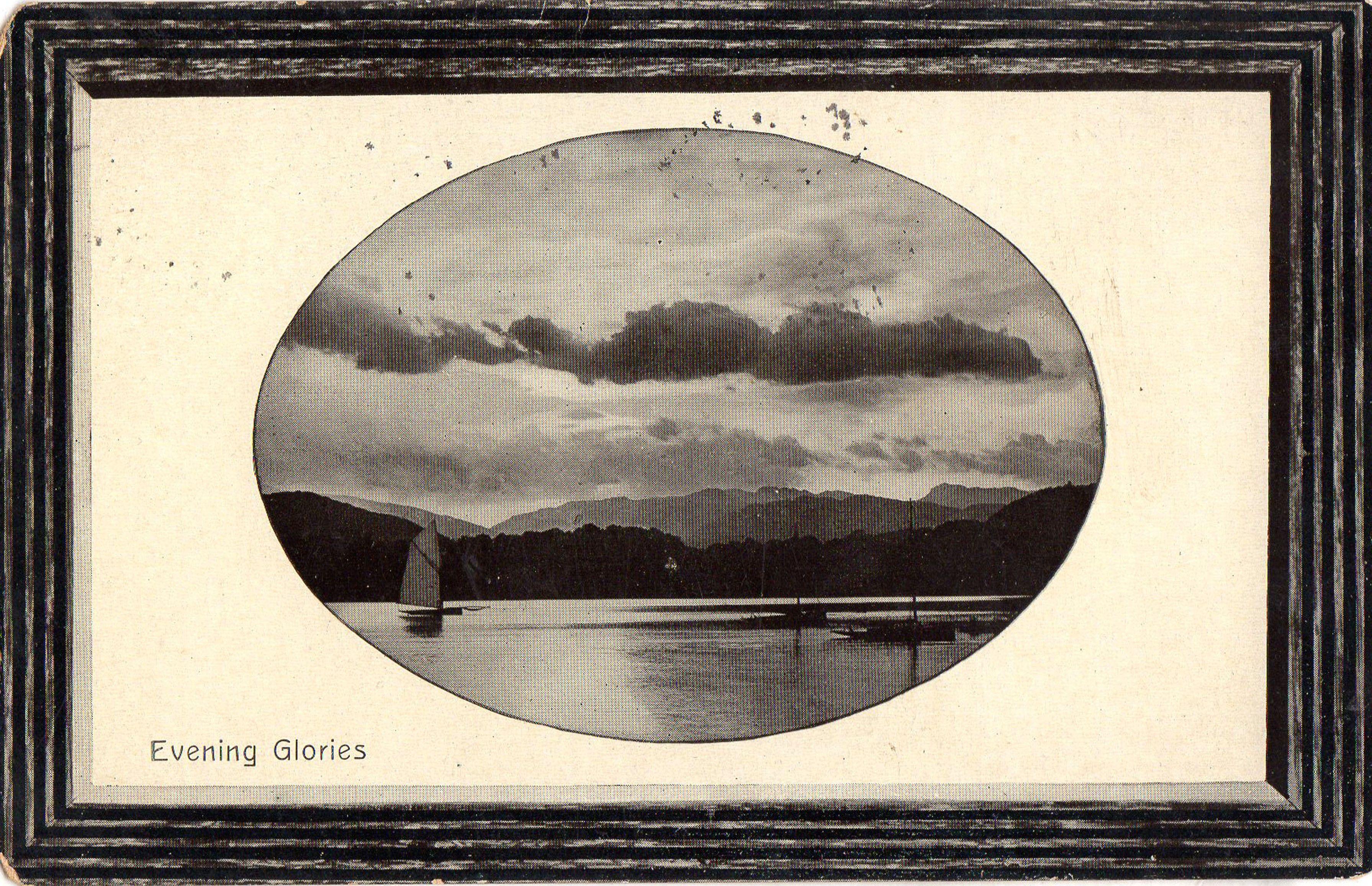 1909 postcard. Hagins collection