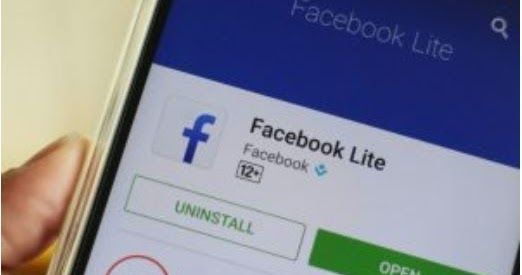 fb lite log in