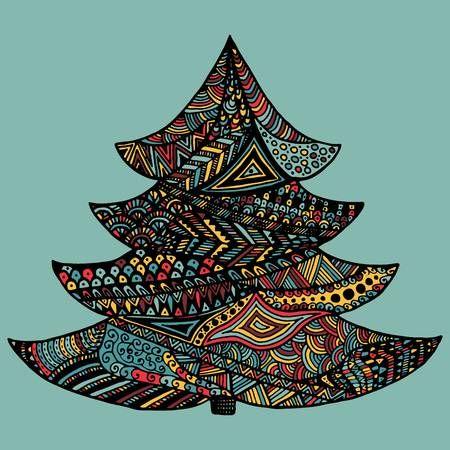Image result for zentangle christmas ornaments   Christmas ...