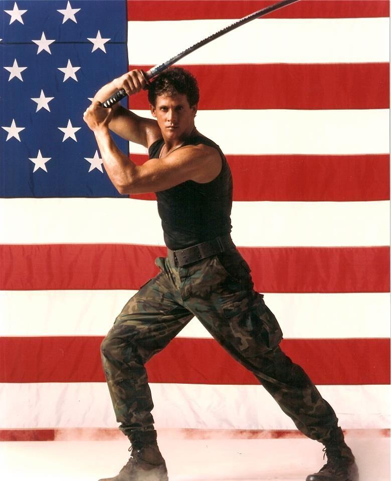 Michael Dudikoff American Ninja Promo Poster Martial Arts