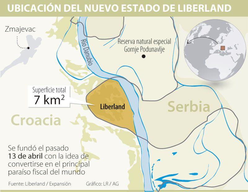 Liberland El Nuevo País Europeo Donde Pagar Impuestos Es Voluntario Paises Europeos Voluntarios Paises