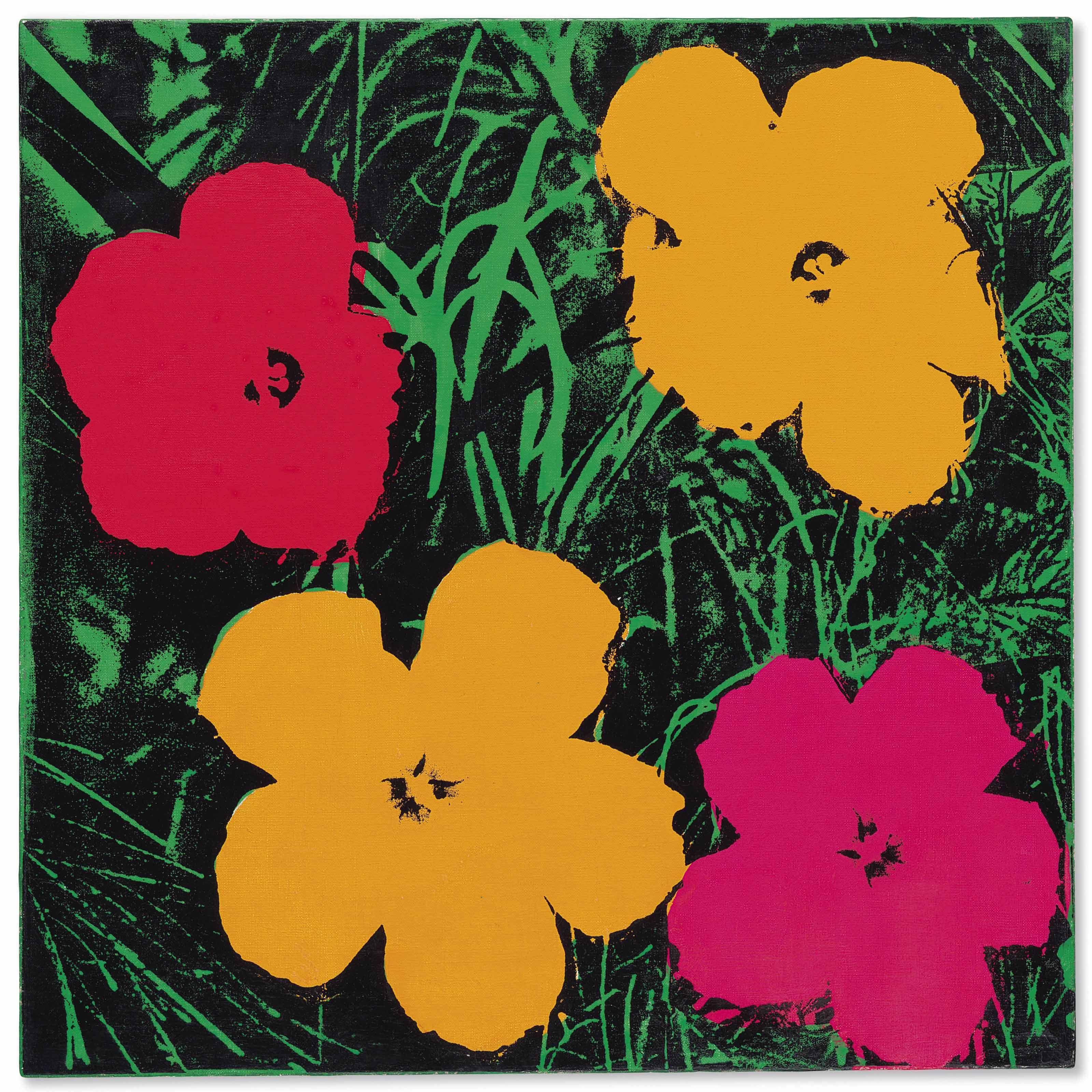 Flowers,Andy Warhol,1970 Andy warhol flowers, Warhol