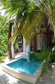 Pool Privacy Curtains curtains! could be nice for privacy , plunge pool off master
