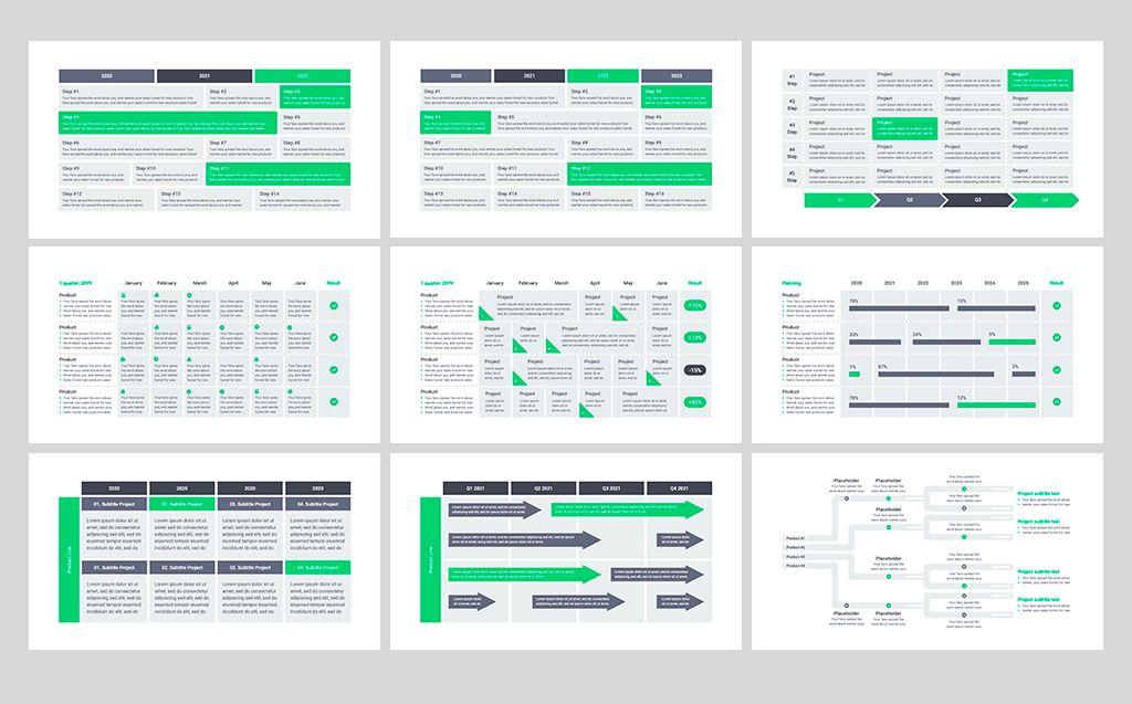 Product Roadmap Google Slides 82301 Keynote Template Google