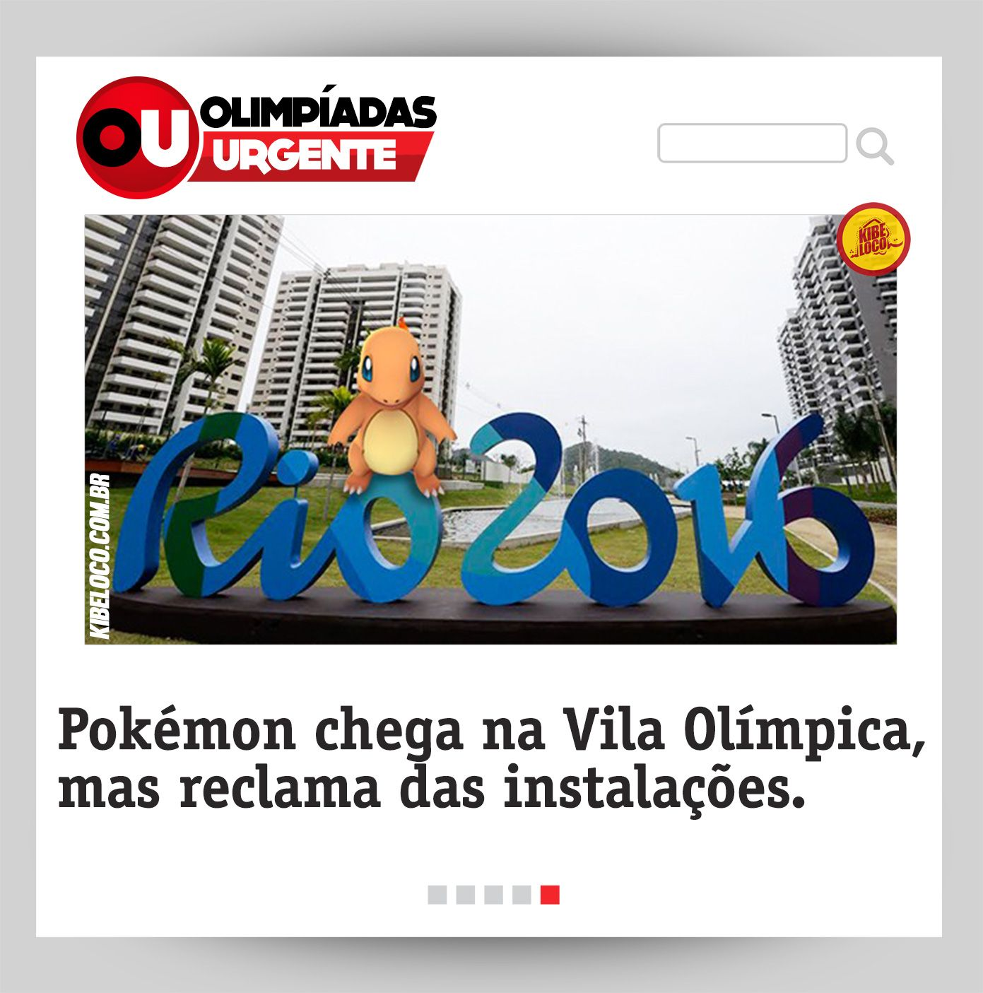 OLIMPÍADAS URGENTE #6