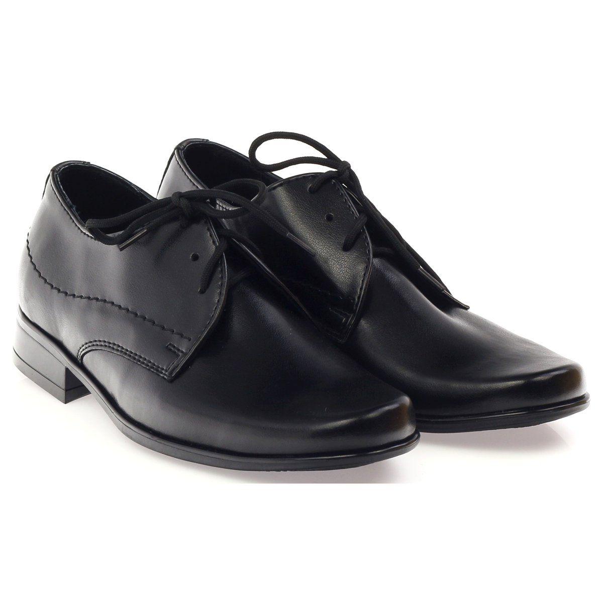 Gregors Pantofle Do Komunii Czarne Communion Shoes Black Slippers Childrens Shoes