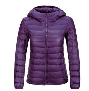 Winter Women UltraLight Jacket 90% White Duck Down Jackets Coats Ultra Light Down Parkas Women Warm Snow Parka New 2016