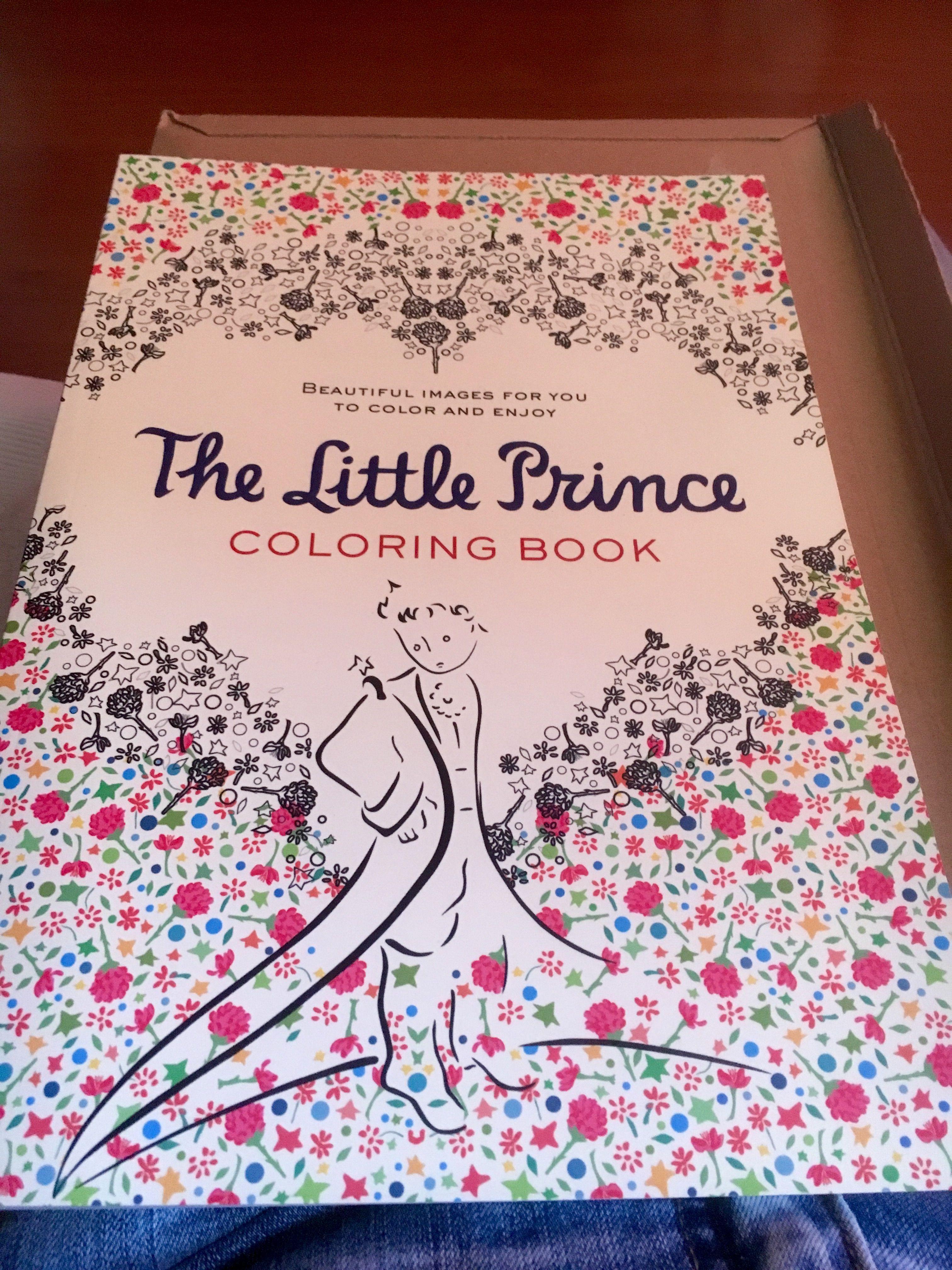 The Little Prince, coloring book. No es mandala, pero es para ...