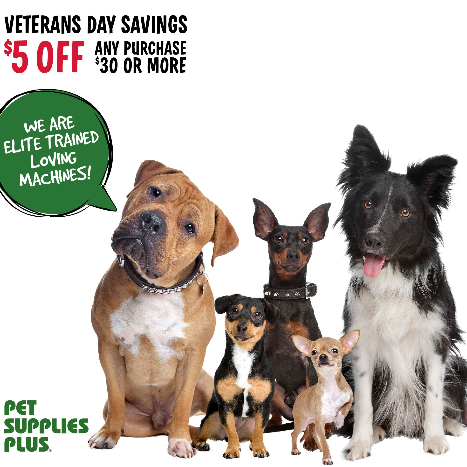 Now through Veterans Day, we're giving our neighbors the