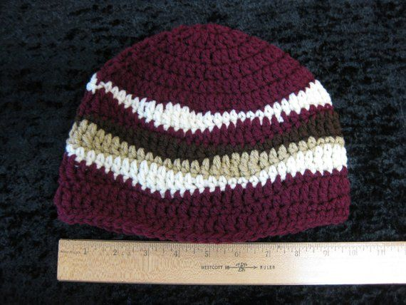 Bacon Beanie - crocheted - Made to Order  a8ce4405d8c