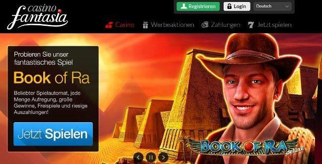 Casino Fantasia Erfahrung - seriös oder Betrug? Novoline Casino