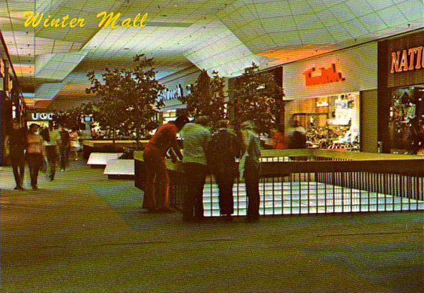 In The Good Old Days Park City Mall In Lancaster Pa Had A Skating Rink In The Basement And You Could Look Down On The Park City Shopping Malls Vintage Mall