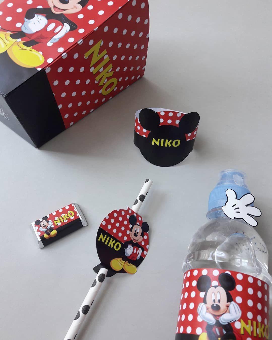 Mickey Mouse set za Niku 🍿 • [ENG]: Mickey Mouse birthday set for little Niko • •